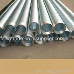 Low carbion galvanized well screen pipe
