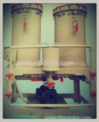 2013 Double Barrel Electroplating Filter