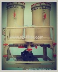 2013 Double Barrel Electroplating Filter