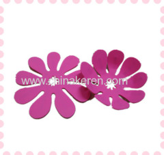 Pink folding silicone placemat