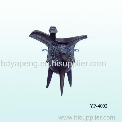 bronze wine cup/sculpture antique cup