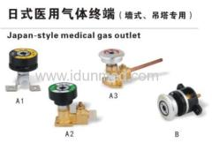medical gas terminal outlet