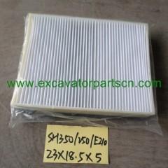 Air con filter for SH350 SH250 E210 23*18.5*5