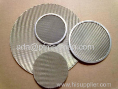 stainless steel filter disc / filter cloth