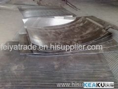 sieve bend screen / wire wrapped panel / arc scren plate