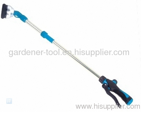 Plastic 10 function garden water wand with valve for water garden
