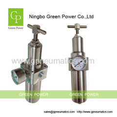 Stainless steel pressure regulator