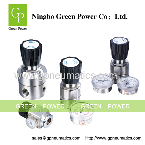 Stainless steel pneumatic air regulator
