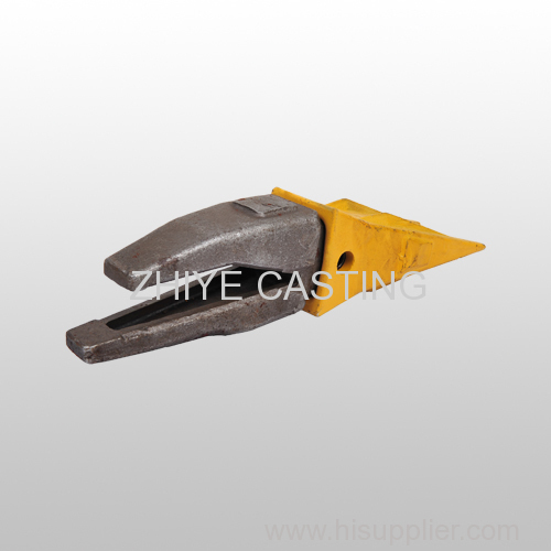 bucket teeth and seat carbon steel casting