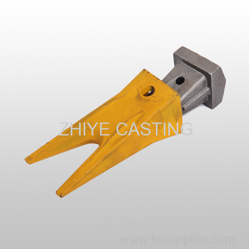 bucket teeth and seat carbon steel casing