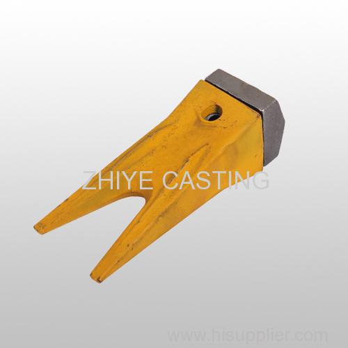 bucket teeth and seat carbon steel casing