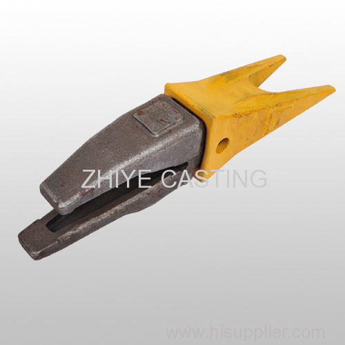 bucket teeth and seat carbon steel casting engineer and machinery