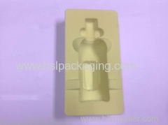 high quality and promptly delivery vacuum forming flock pvc tray