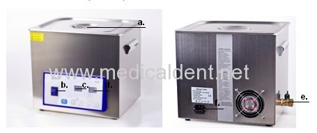Time Control Ultrasonic Cleaning Machine