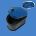 DN15mm pp plastic water meter box for construction
