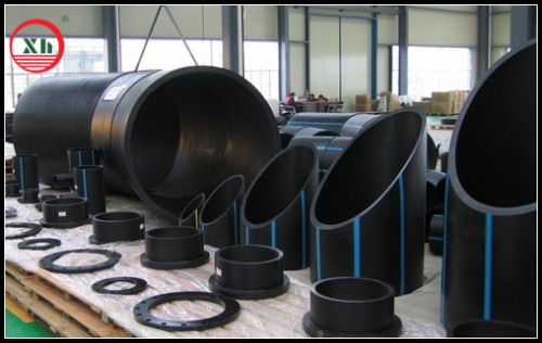 2013 hot sale HDPE fittings and pipe