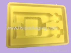 Disposable White PS Antistatic Blister Plastic Tray