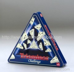 Hot stamping film for triangular products