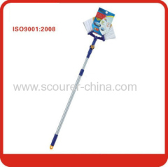 New popular Blue& yellow Long handle corner brush
