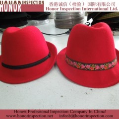 Final Products Inspection of the Huaqiao Hats