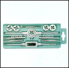 Metric tap and die 12pcs/set