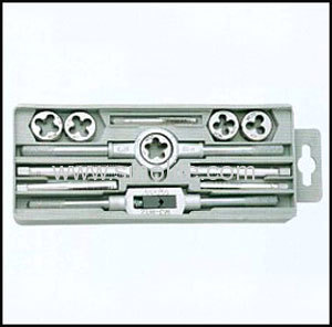 Inch tap and die 12pcs/set