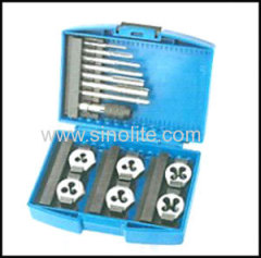 metric tap and hexagon die set 13pcs