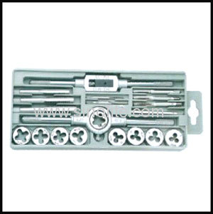 UNC Metric tap and die set 12pcs