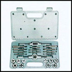 24pcs metric tap and die set in blow case