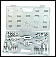 Metric tap and die set 27pcs