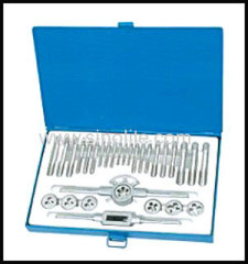 Metric DIN tap and die 30pcs/set