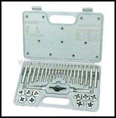 31pcs Metric tap and die set