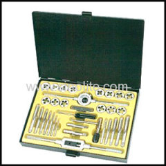 Metric & inch tap and die set 33pcs