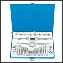 36pcs Metric tap and die set in metal case