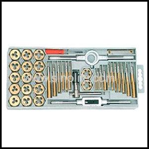 HSS Hand taps 3pcs/set DIN351/BSW 63909340