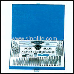 Metric &inch tap and die and drill 52pcs/set
