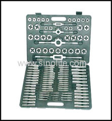Metric tap and die set 110pcs