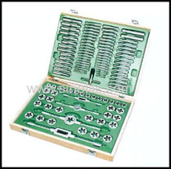 Metric taps and dies set 110pcs
