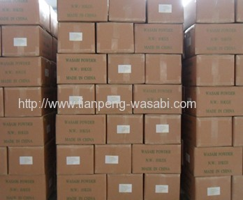 Natural raw materialas horseradish Wasabi Powder