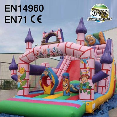 Fantasia Affordable Inflatable Water Slides