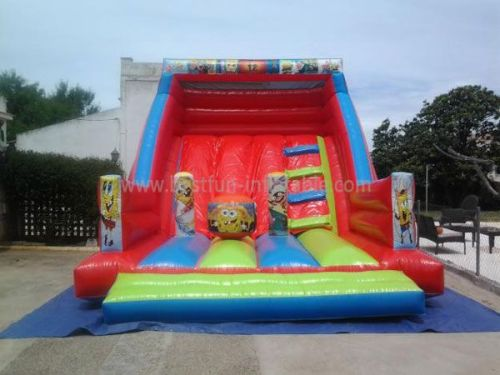 Inflatable Spongebob Slide Bounce