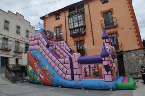 Fantasia Inflatable Castle Slide