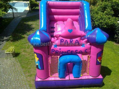 Inflatable Bounce Slide Princess