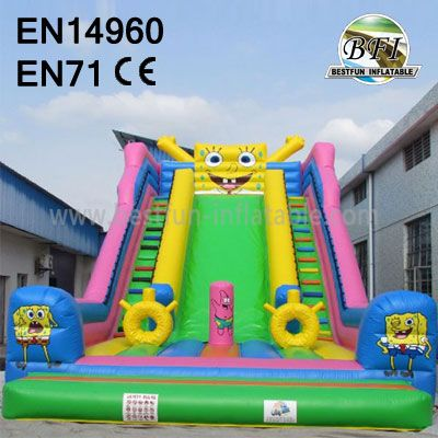 Spongebob Backyard Inflatable Slides
