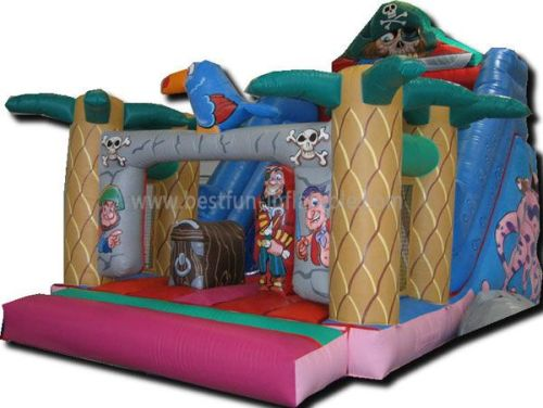Jungle Commercial Inflatable Pirate Slide