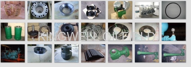 API Pulsation Dampener for F series Mud Pump