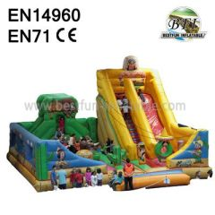 Big Inflatable Slides For Park
