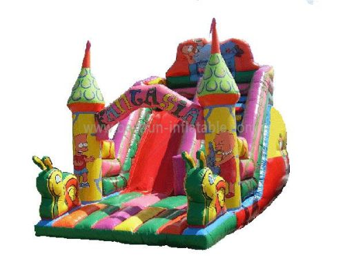 Fantasia Inflatable Bouncy Slide