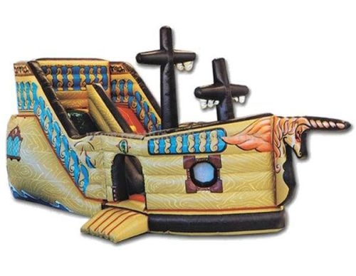 2013 Inflatable Pirate Ship Birthday Party Rentals