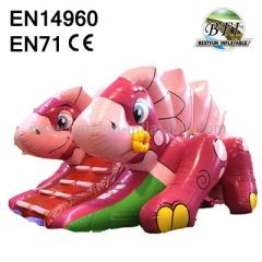 Small Inflatable Dino Slide